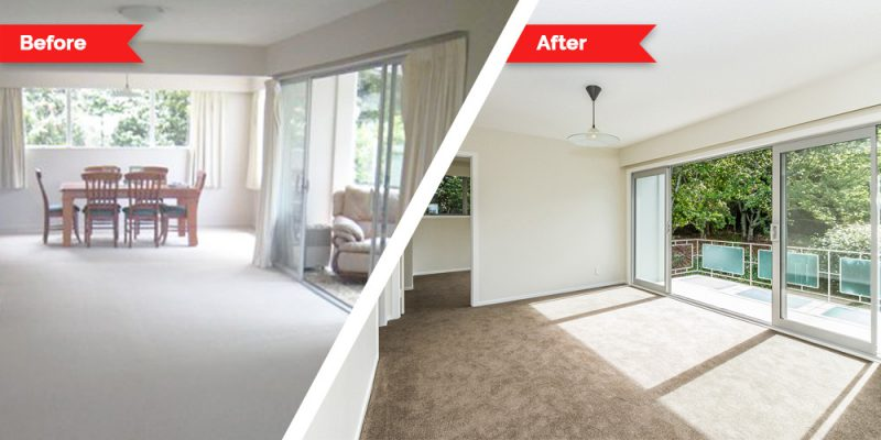 Renovations - living room