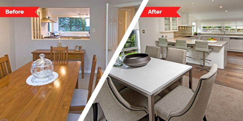 Renovations - dining room