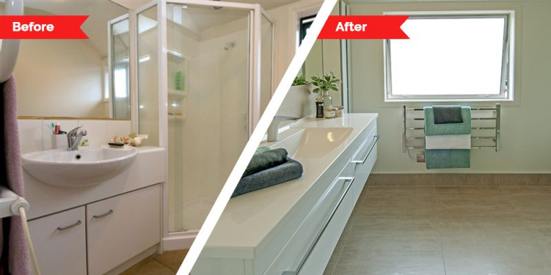 Renovations - bathroom