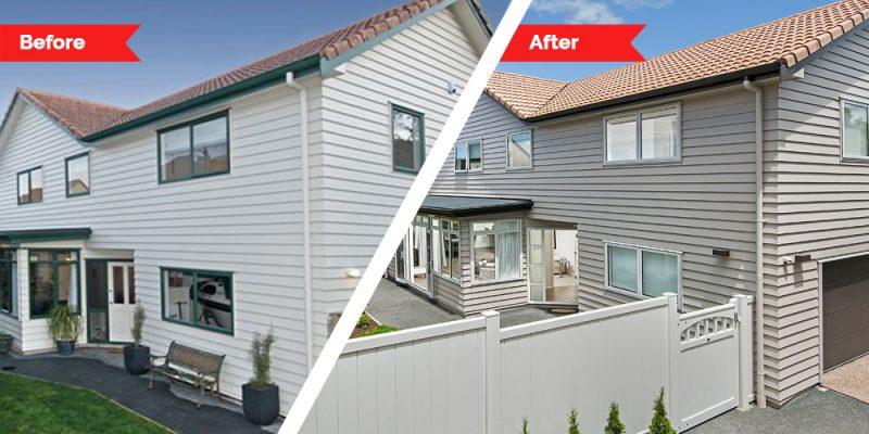 Renovations - exterior